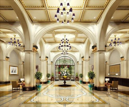 Hãy ngắm nhìn cùng chúng tôi những thiết kế đại sảnh khách sạn sang trọng bật nhất