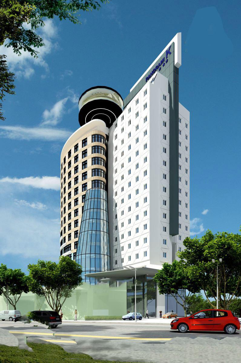 Thiết kế khách sạn 3 sao theo phong cách hiện đại