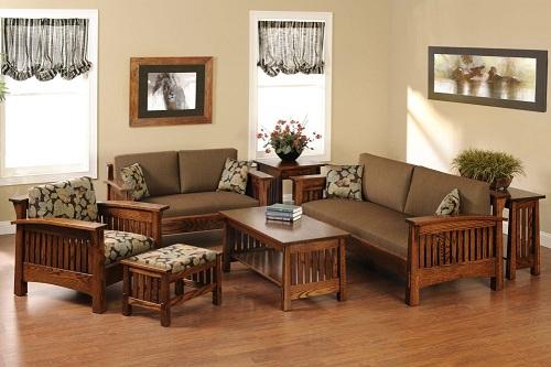 Bí quyết chọn đồ gỗ tốt cho phòng khách