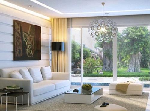 Các cách thiết kế nội thất phòng khách cho biệt thự