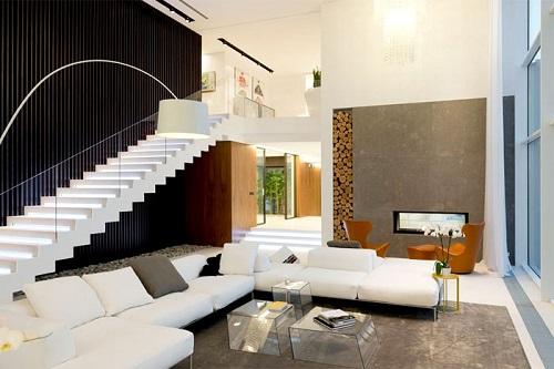 Ngắm nhìn mẫu thiết kế nội thất biệt thự sang trọng