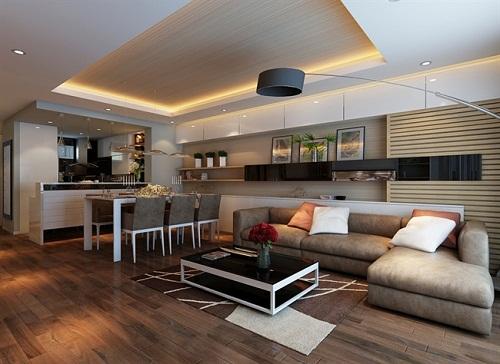 Tìm hiểu xu hướng thiết kế nội thất chung cư mới