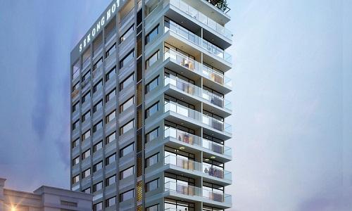 Mẫu thiết kế nội thất dành cho khách sạn 3 sao.