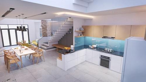 Thiết kế không gian sang trọng và hiện đại của ngôi nhà ở Long Biên