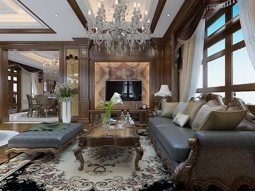 Biệt thự theo phong cách tân cổ điển của anh Nam và cách bày trí thiết kế nội thất cực bắt mắt