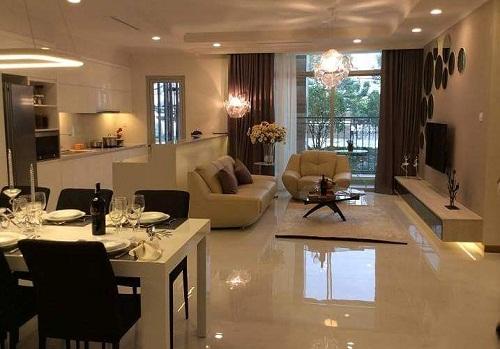 Mang đến phong cách lãng mạn cho nội thất chung cư.