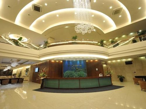 Thiết kế mẫu khách sạn có nội thất đẳng cấp, sang trọng