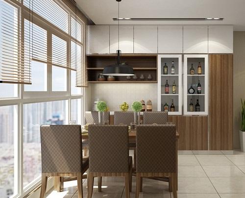 Mẫu thiết kế nội thất nhà phố mang phong cách hiện đại bậc nhất